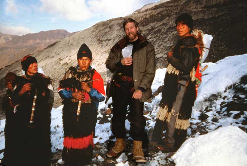Ucucu bear dancers at 5,000-metres, Qoyllur Riti, Peru